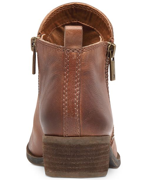 520886a4b114 Lucky Brand Women s Basel Booties   Reviews - Boots - Shoes - Macy s