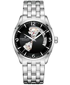 Hamilton Men's Swiss Automatic Jazzmaster Stainless Steel Bracelet Watch 40mm