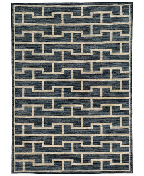 "JHB Design CLOSEOUT!  Brookside Handel Indigo 3'3"" x 5'5"" Area Rug"