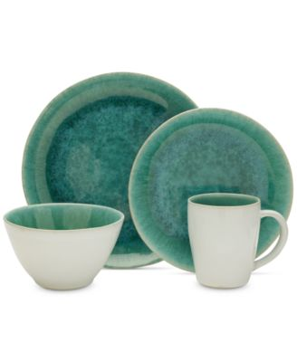 Aventura Green 4-Pc. Place Setting