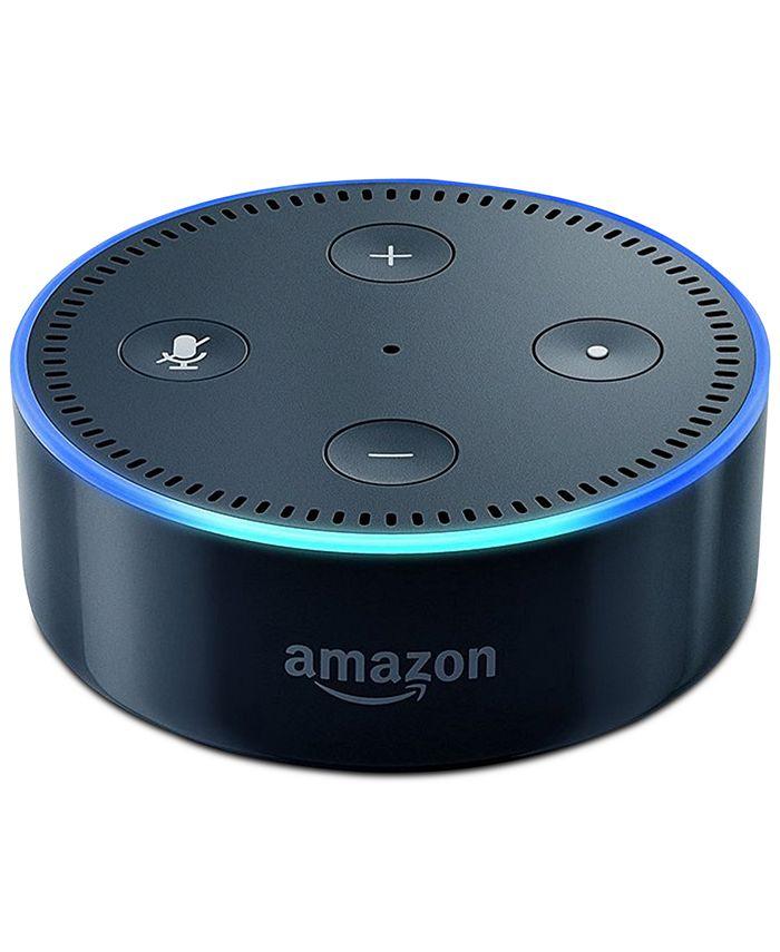 Amazon - Echo Dot Voice-Activated Speaker