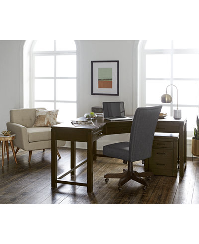 CLOSEOUT! Hendrik Home Office Furniture Collection, Created for Macy's