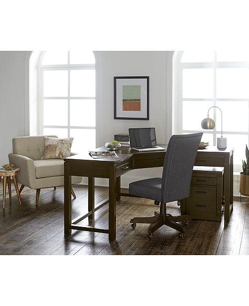 Furniture Hendrik Home Office Furniture Collection Created For Macy S