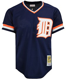 Mitchell & Ness Men's Kirk Gibson Detroit Tigers Authentic Mesh Batting Practice V-Neck Jersey