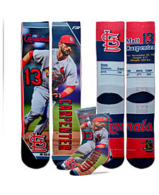 For Bare Feet Matt Carpenter St. Louis Cardinals Trading Card Player Crew Socks