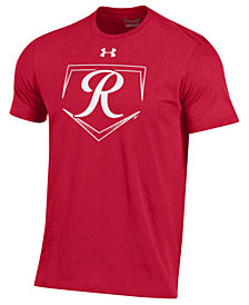 Under Armour Men's Tacoma Rainiers At Home Logo Charged Cotton T-Shirt