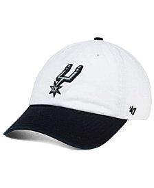 '47 Brand San Antonio Spurs 2-Tone CLEAN UP Cap
