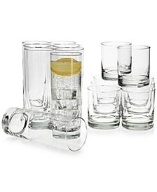 Islande 16-Pc. Glassware Set