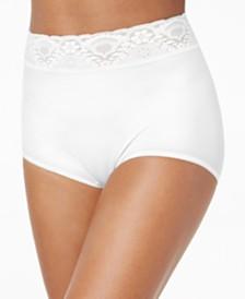 Bali Lacy Skimp Skamp Brief Underwear 2744
