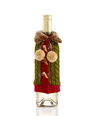 Holiday Lane Sweater Wine Cover, Created for Macy's