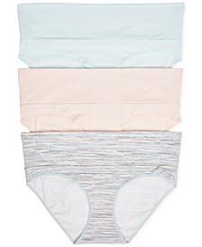 3-Pk. Fold-Over Panties