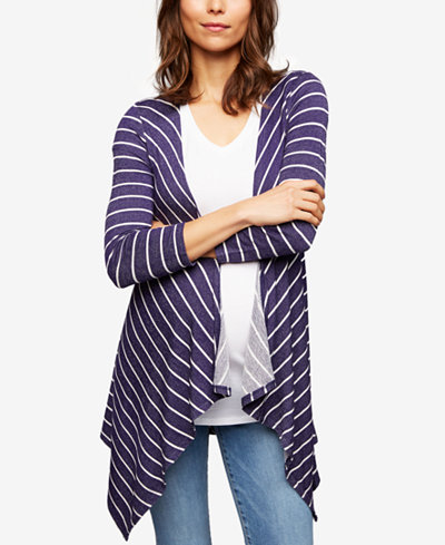 A Pea In The Pod Maternity French Terry Cardigan