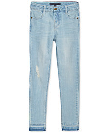 Tommy Hilfiger Big Girls Distressed Skinny Jeans Jeggings