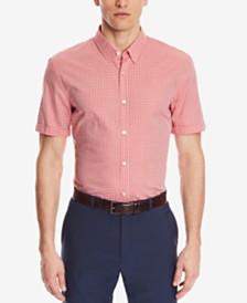BOSS Men's Slim-Fit Check Shirt