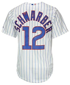Majestic Men's Kyle Schwarber Chicago Cubs Player Replica CB Jersey