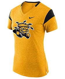 Nike Women's Wichita State Shockers Fan V Top T-Shirt