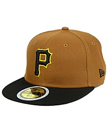 Boys' Pittsburgh Pirates Authentic Collection 59FIFTY Cap