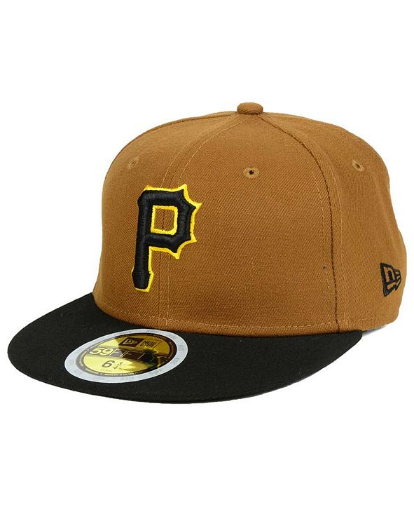 New Era Boys' Pittsburgh Pirates Authentic Collection 59FIFTY Cap