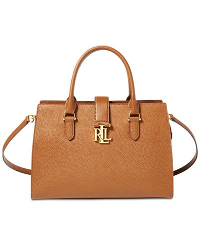 Lauren Ralph Lauren Brigitte II Medium Satchel - Handbags ...