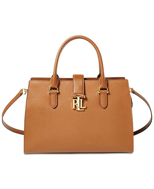 2014de2c2b36 Lauren Ralph Lauren Brigitte II Satchel   Reviews - Handbags ...
