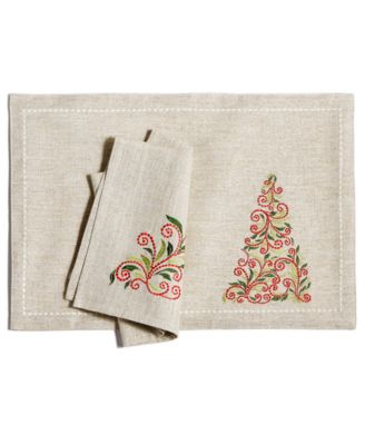 French Perle Tree Placemat