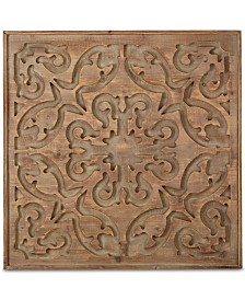 Graham & Brown Bazaar Dark Wood Panel Wall Art