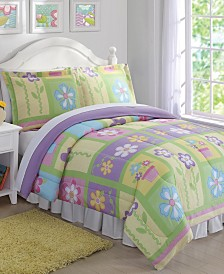 My World Sweet Helena Reversible 3-Pc. Full/Queen Comforter Set