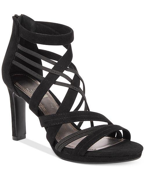 Impo Trudy Stretch Dress Heel Sandal z5fptId