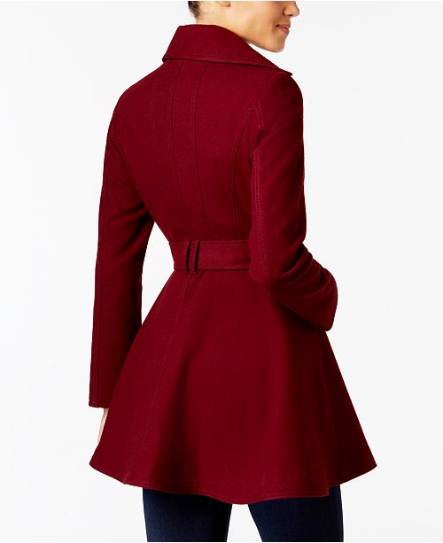 b41bfacf878 INC International Concepts I.N.C. Skirted Walker Coat