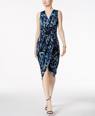 RACHEL Rachel Roy Berry Bush Surplice Wrap Dress - Dresses - Women ...