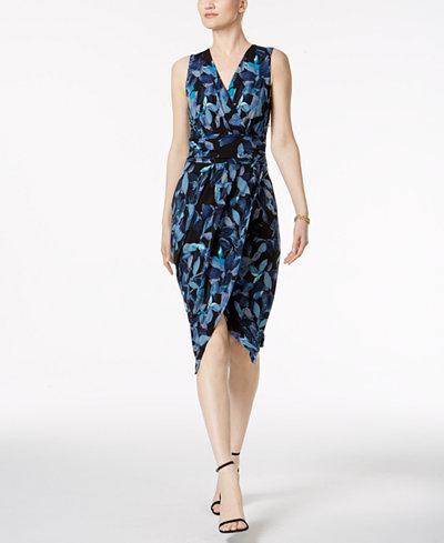 RACHEL Rachel Roy Berry Bush Surplice Wrap Dress - Dresses - Women ...