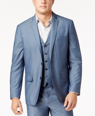 I.N.C. Men's Chambray Suit Jacket, Created for Macy's