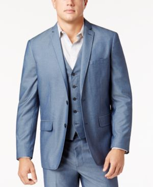 Inc International Concepts Men's Chambray Suit Jacket, Created for Macy's thumbnail