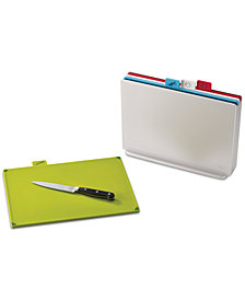 Joseph Joseph 4-Pc. Large Index Cutting Board Set