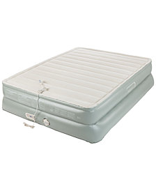 "Aerobed Premier 3-Layer 20"" Queen Air Mattress with Built-In Pump"