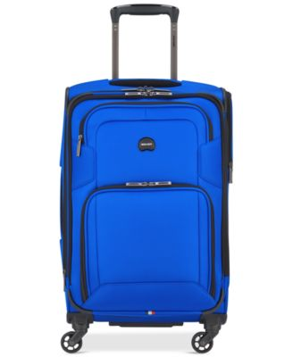 """Opti-Max 21"""" Expandable 4-Wheel Carry-On Spinner Suitcase, Created for Macy's"""