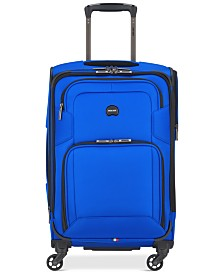 "CLOSEOUT! Delsey Opti-Max 21"" Expandable 4-Wheel Carry-On Spinner Suitcase, Created for Macy's"