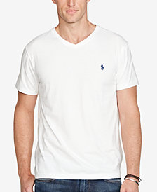 Polo Ralph Lauren Men's Core Medium-Fit V-Neck Cotton Jersey T-Shirt