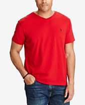 Polo Ralph Lauren Men s Big and Tall Classic-Fit V-Neck Short-Sleeve cd088ae44