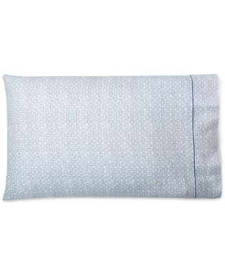 Spencer Cotton Basketweave Pair of King Pillowcases