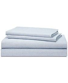 Lauren Ralph Lauren Graydon SoftWeave 144, 4-Pc. Full Sheet Set