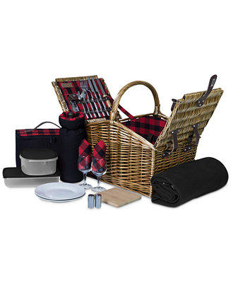 Somerset Red Picnic Basket by General