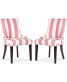 Lester Awning Stripes Dining Chair (Set Of 2)