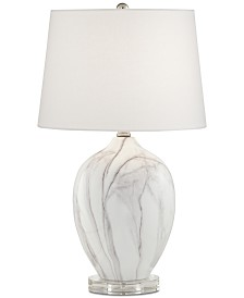 Pacific Coast Marbleized Table Lamp