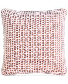"LAST ACT! Knit 20"" Square Decorative Pillow, Created for Macy's"