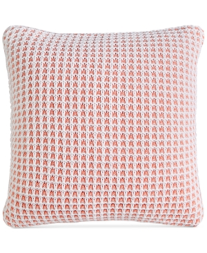 "Image of Last Act! Charter Club Damask Designs Knit 20"" Square Decorative Pillow, Created for Macy's Bedding"