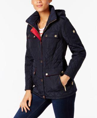 Michael kors women's water resistant coat