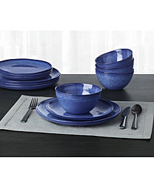CLOSEOUT! Hotel Collection Olaria  Lapis Dinnerware Collection, Created for Macy's