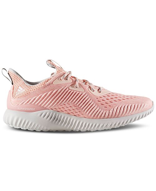 1284ef9715196 adidas Women s Alpha Bounce EM Running Sneakers from Finish Line ...