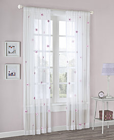 "Mi Zone Lily 52"" x 63"" Sheer Window Panel"